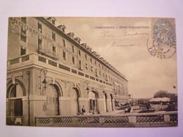 CONTREXEVILLE  (Vosges)  :  HÔTEL  COSMOPOLITAIN   1904   XXX - Vittel Contrexeville