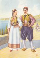 Dubrovnik Konavle Folk Costume Artist Milan Vukic - Croatia