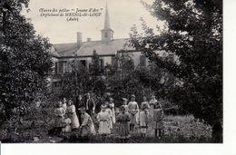 Orphelinat De Mesnil-St-Loup (les Petits Enfants Dans Le Jardin) - France
