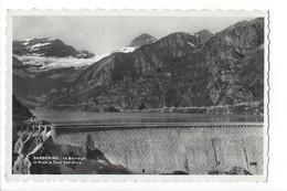 19605 - Barberine Le Barrage Le Ruan Et Tour Sallières + Cachet De La Cabane - VS Valais