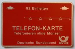 GERMANY - L&G - Internal Trial - Bundespost - 92 Units - 1982 - 2nd Print - 150ex - 002... - Mint - T-Series : Tests