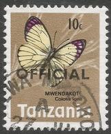 Tanzania. 1973 Official. 10c Used. SG O41 - Tanzania (1964-...)