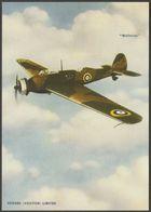 Advertising - Vickers Wellesley Light Bomber - Vintage Ad Gallery Postcard - 1939-1945: 2nd War