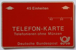 GERMANY - L&G - Internal Trial - Bundespost - 45 Units - 1982 - 002... - Mint - T-Series: Testkarten