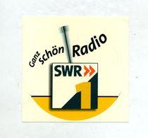 Autocollant Radio Swr - Autocollants