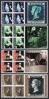 GIBRALTAR 2001 Death Centenary Of Queen Victoria: Set Of 4 Blocks (4 Stamps + Label Per Block) UM/MNH - Gibraltar