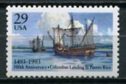 USA 1993 Estados Unidos / Ships MNH Barcos Schiffe Bateaux / Cu7216  40-3 - Barcos