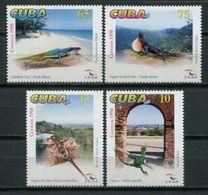 Cuba 1998 / Fauna Reptiles MNH Reptils Reptilien / Cu7212  40 - Altri