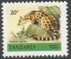 Tanzania. 1980 Wildlife. 20c MNH. SG 308 - Tanzania (1964-...)