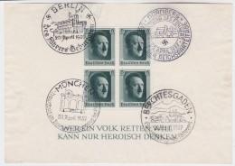 Deutsches  Reich   .    Michel   .     Block   7         .     O     .     Gebraucht   .   /     .    Cancelled - Allemagne