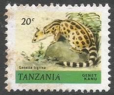 Tanzania. 1980 Wildlife. 20c Used. SG 308 - Tanzania (1964-...)