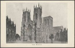 York Minster, Yorkshire, C.1905-10 - Hampshire County Council Reward Postcard - York