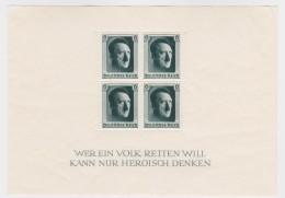 Deutsches  Reich   .    Michel   .   Block  7    (Marken  ** )     .   *     .  Ungebraucht Mit Gummi Und Falz - Allemagne