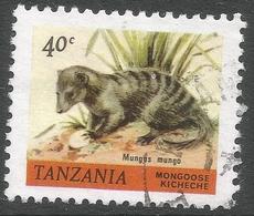 Tanzania. 1980 Wildlife. 40c Used. SG 309 - Tanzania (1964-...)