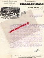 93- LA PLAINE SAINT DENIS- RARE LETTRE ETS. CHARLES YCRE-ALCOOLS DENATURES-31 AV. PRESIDENT WILSON-1924 - Petits Métiers