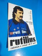ROBERTO PRUZZO - RUTILIUS -  STICKER  ADESIVO  AUTOCOLLANT - PUBBLICITARIO - Pegatinas