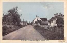77 - BAILLY CARROIS : Route De Rozay - CPA Village ( 700 Habitants) - Seine Et Marne - Autres Communes