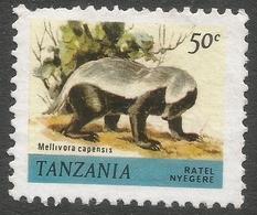 Tanzania. 1980 Wildlife. 50c Used. SG 310 - Tanzania (1964-...)