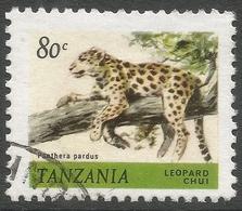 Tanzania. 1980 Wildlife. 80c Used. SG 312 - Tanzania (1964-...)