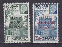 Soudan N° 133*,134* - Soudan (1894-1902)