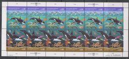 UNO Geneva 1992 Oceans 2v In Sheetlet ** Mnh (F6961) - Geneva - United Nations Office