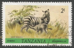 Tanzania. 1980 Wildlife. 2/- Used. SG 315 - Tanzania (1964-...)