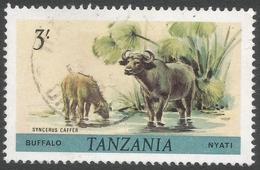 Tanzania. 1980 Wildlife. 3/- Used. SG 316 - Tanzania (1964-...)