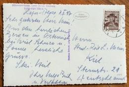 MONTAGNA  RIFUGI  CARTOLINA DA  LOFER   CON ANNULLI INTERESSANTI 1937 - 1879-08 Principato