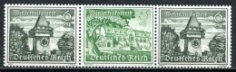 Allemagne   Y&T      XX   ---      Mi W 137   --   MNH  --  Perfect... - Se-Tenant