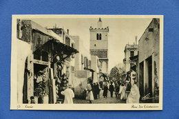 Cartolina Tunisia - Tunisi - Rue Des Teinturiers - 1930 Ca. - Unclassified