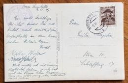 MONTAGNA  RIFUGI  CARTOLINA DA NEUSTIFT IM STUBAITAL CON ANNULLI INTERESSANTI 1937 - 1879-08 Principato