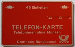 GERMANY - L&G - Bundespost - 1st Public Trial - 45 Units - R1... - 1983 - Mint - T-Series : Tests
