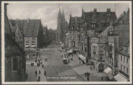 Königstrasse, Nürnberg, Bayern, C.1930s - Ludwig Riffelmacher AK - Nuernberg