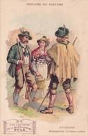 Histoire Du Costume Autriche Montagnards Tyrolien Illustration Musculosine Byla Suc Viande De Boeuf Crue Anemie - Trade Cards