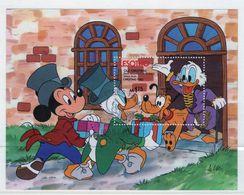 Lesotho 1983 Christmas Walt Disney Fine Used Mini Sheet. - Lesotho (1966-...)