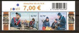 """FINLANDIA/ FINLAND/ SUOMI FINLAND/ FINNLAND  -EUROPA  2007-"""" A CENTENARY SCOUT -EUROPA-CEPT""""- SERIE 2 V. - 2007"""