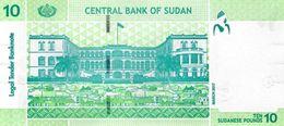 SUDAN P. 73c 10 P 2015 UNC - Soudan