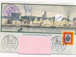 Philatélie - B3182-Allemagne  -Frankfurt Am Main -  Enveloppe  De Correspondance  ( Détails Scan(s) ) - [7] Federal Republic