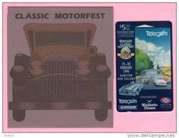 New Zealand - 1994 Classic Motorfest - $5 Racing Cars - NZ-E-9 - Mint In Folder - Neuseeland