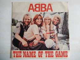 45 Giri - Abba - THE NAME OF THE GAME E I WONDER - 45 G - Maxi-Single