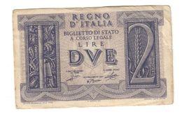 Italy 2 Lire 1939 .L. - [ 1] …-1946 : Kingdom