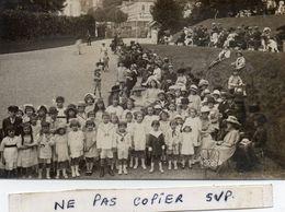 Photo  Authentique -    Groupe D'enfants  -  Bagnères De Bigorre ?   à Confirmer... - Plaatsen