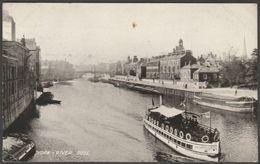 The River Ouse, York, Yorkshire, 1924 - Thomas Taylor Postcard - York