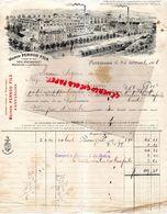 25- PONTARLIER-SUISSE- COUVET- BELLE FACTURE MAISON PERNOD FILS- VEIL PICARD- 1906 - Alimentaire