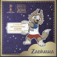 Russland Russia 2017 MNH ** Mi Nr.2511-13 SPC Football Christmas With Special Souvenir Sheet M - Fußball-Weltmeisterschaft