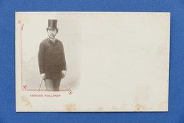 Cartolina Personaggi Famosi - Poeta Francese Edouard Pailleron - 1900 Ca. - Other