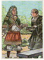Image Chocolat Poulain - Série 12 - Connaissance Du Chocolat - Le Secret Des Monastères Espagnols - Old Paper