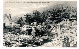 Savoie : Bozel : Catastrophe Du 16/7/1904 - Bozel
