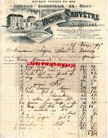 16- BARBEZIEUX-LA ROCHEFOUCAULD- RARE LETTRE MANUSCRITE  VICTOR SAUVETRE-MERCERIE-BONNETERIE-COUTELLERIE- 1905 - 1800 – 1899