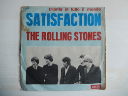 45 Giri - THE ROLLING STONES - Satisfaction E The Under Assistant West Coast Promotion Man (Decca) - 45 G - Maxi-Single